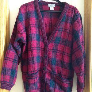 vintage grandma grandpa sweater Eatons